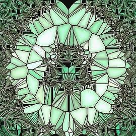 Catherine Lott - Stained Glass Green