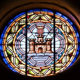 Pedro Cardona - Stained glass in Santa Maria Mahon Menorca