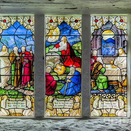 Stained Glass Triptych - Adrian Evans