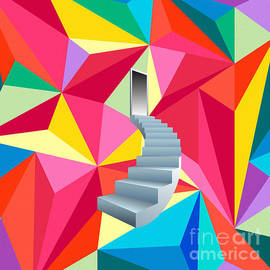 Celestial Images - Stairs to Heaven of Colors