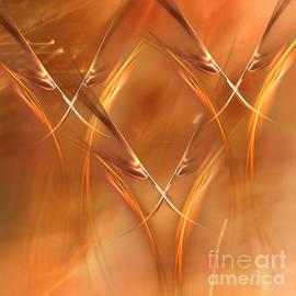 Jan Tyler - Stalks of Golden Wheat Abstract