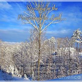 Kimberlee  Baxter - Standing in the Presence of the Lord...