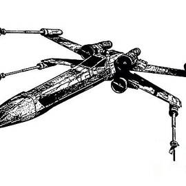 Star Wars T-65 X-Wing Starfighter Tee - Edward Fielding
