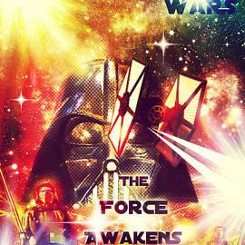 Aurelio Zucco - Star Wars - The Force Awakens Collage Poster I
