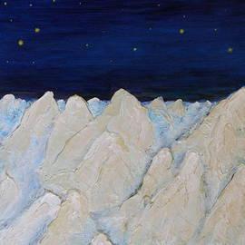 Anna Folkartanna Maciejewska-Dyba  - Starry Night over Badlands