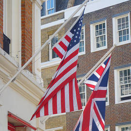 Alan Armstrong - Stars And Stripes Union Jack London UK