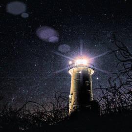 Jeff Folger - Stars over Nobska lighthouse