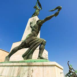 Matthias Hauser - Statues on the Gellert hill Budapest Hungary