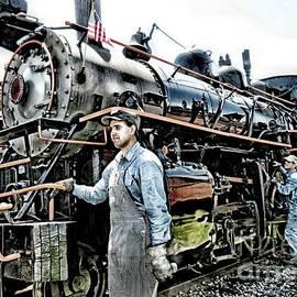 Elizabeth Duggan - Steam Engine 18 The American Pride of Arcade Attica Railroad