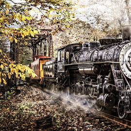 Debra and Dave Vanderlaan - Steam Train