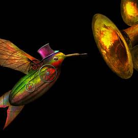Mike Savad - Steampunk - Bird - Apodiformes Centrifigalus