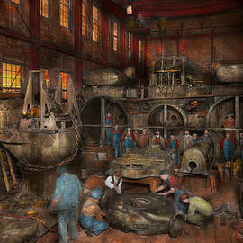 Mike Savad - Steampunk - Final inspection 1915