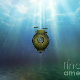 Valerie Anne Kelly - Steampunk submarine