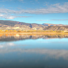 Kristina Rinell - Steinaker Reservoir Reflections