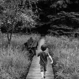 Daniel Dempster - Stepping Into Adventure - D009927-bw