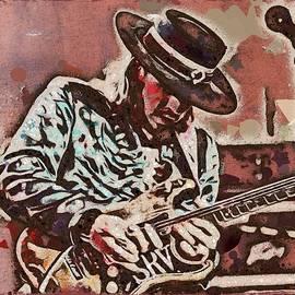 Scott Wallace  - Stevie Ray Vaughan Graffiti Portrait