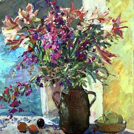 Juliya Zhukova - Stiil life with flowers