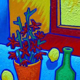 still Life At Yellow Window - John  Nolan