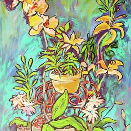 Arrin Burgand - Still Life of Flowers