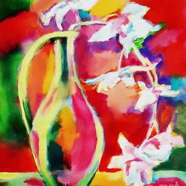 Helena Wierzbicki - Still life with flowers