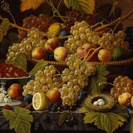 Still Life with Fruit, 1854 - Severin Roesen