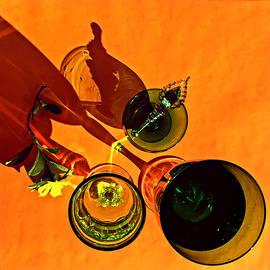 Andrei SKY - Still life with Golden Guinea Vine