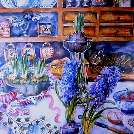 Trudi Doyle - Still Life with Hyacinths