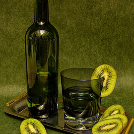 Andrei SKY - Still life with kiwifruit