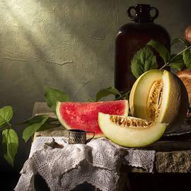 Jon Wild - Still Life with Melon Slices