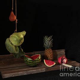 Joe Jake Pratt - Still Life With Pomegranate