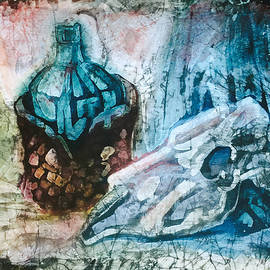 Natalya Zaytseva - Still Life with Scull
