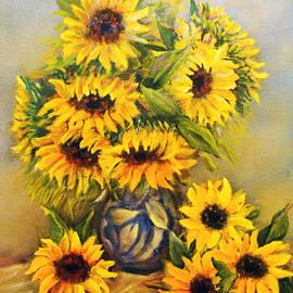 Loretta Luglio - Still Life With Sunflowers