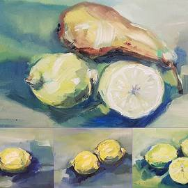 Christel Roelandt - Still with Lemon and Pear