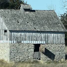 Linda Benoit - Stone and Wood Barn