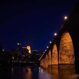 Jim Cummings - Stone Arch Bridge in Minneapolis