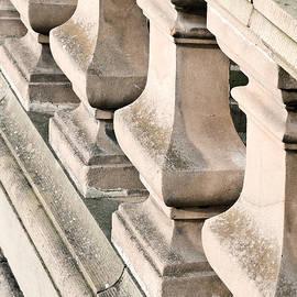 Stone bannister - Tom Gowanlock
