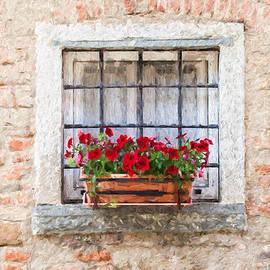 David Letts - Stone Window of Cortona II