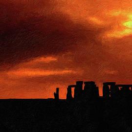 Steve Harrington - Stonehenge impasto 2