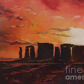 Ryan Fox - Stonehenge Sunset