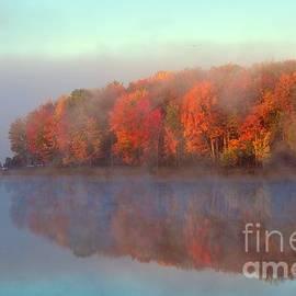 Terri Gostola - Stoneledge Lake Pristine Beauty in the Fog