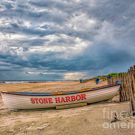 Nick Zelinsky - Storm Clouds in Stone Harbor