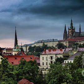 M G Whittingham - Prague Castle Storm