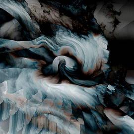 Abstract Alien Artist Stephen Killeen - Stormy Emotions
