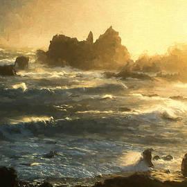 TN Fairey - Stormy Seas - La Corbiere - Jersey Channel Islands