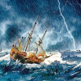 Pennie McCracken - Stormy Seas