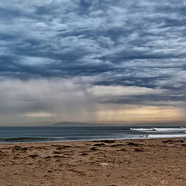Angela A Stanton - Stormy Skies over Ventura California