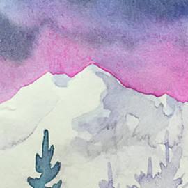 Teresa Ascone - Stormy Sky Snowy Peaks
