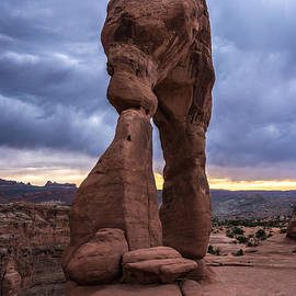 Gary Whitton - Stormy Sunset - Delicate Arch - Moab - Utah