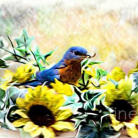 Tina  LeCour - Strapping Bluebird