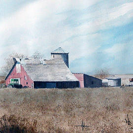 Richard Hahn - Strasburg Barn with John Deer